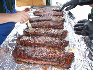 mopped ribs